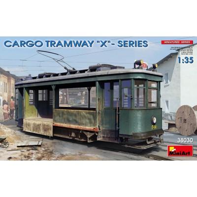 "TRANVIA SERIE X ""CARGA"" -1/35- MiniArt Models 38030"