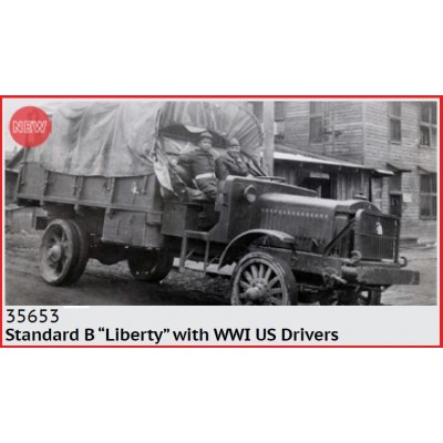 CAMION STANDARD B LIBERTY & CONDUCTORES U.S. ARMY -1/35- ICM 35653