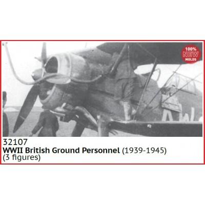 PERSONAL DE TIERRA Royal Air Force (1939-45) -1/32- ICM 32107