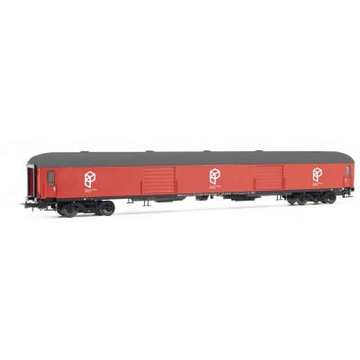 VAGON PAQUEEXPRES DD-8100 RENFE (Rojo) Ep. IV -H0 - 1/87- Electrotren HE4001