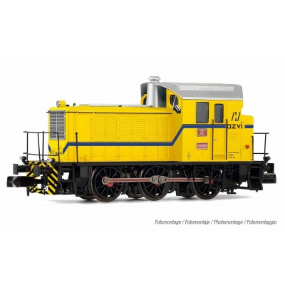 "LOCOMOTORA DIESAL 10393 RENFE (Amarillo) ""AZVI"" Ep. V -N -1/160- Arnold HN2508"