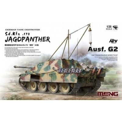 CAZA CARROS Sd.Kfz. 173 JAGDPANTHER G2 -1/35- Meng Model TS-047