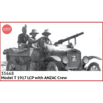 FORD Modelo T LCP (1917) & ANZAC -1/35- ICM 35668