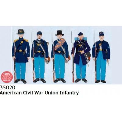 INFANTERIA FEDERAL (Guerra Civil Americana) -1/35- ICM 35020