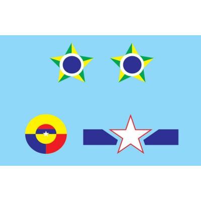 SET CALCAS DOUGLAS B-26 INVADER (Latino America) -1/48- ICM 4803