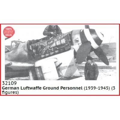 PERSONAL DE TIERRA LUFTWAFFE (1939-45) -1/32- ICM 32109
