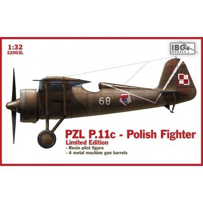 PZL P.11c (Limited Edition) -1/32- IBG 32003L