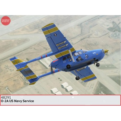 "CESSNA O-2 A SKYMASTER ""US NAVY"" -1/48- ICM 48291"