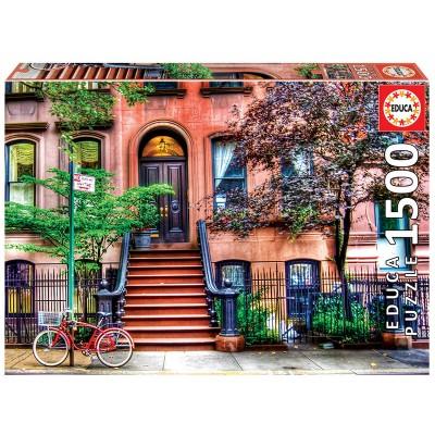 PUZZLE 1500 pzas Greewich Village, NUEVA YORK - EDUCA 18502