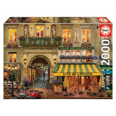 PUZZLE 2000 pzc Galerie Paris - EDUCA 18009