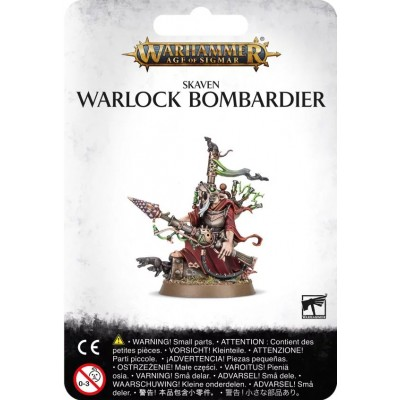 SKAVEN: WARLOCK BOMBARDIER - Games Workshop 90-25