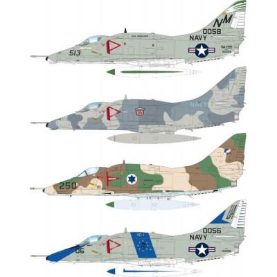 DOUGLAS A-4 E SKYHAWK -1/144- Eduard 4465