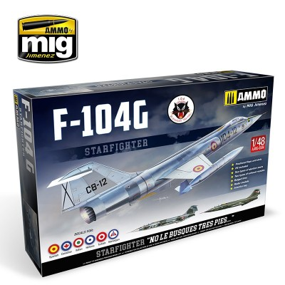 LOCKHEED F-104 G STARFIGHTER (ESPAÑA) -1/48- Ammo MIG 8504