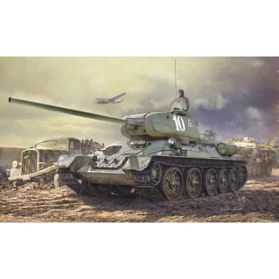 CARRO DE COMBATE T-35/85 (Interiores) -1/35- Italeri 6545