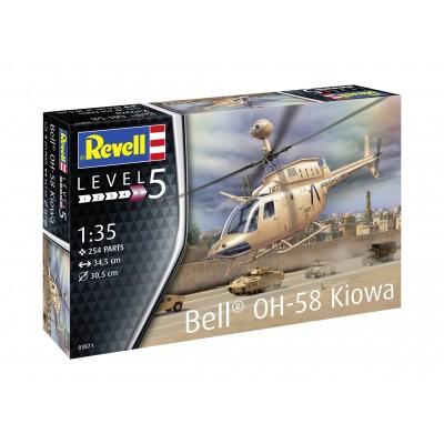 BELL OH-58 D KIOWA -1/35- Revell 03871