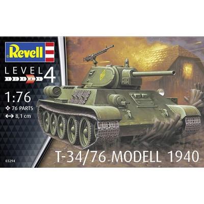 CARRO DE COMBATE T-34/76 Mod. 1940 -1/76- Revell 03294