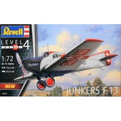 JUNKERS F.13 -1/72- Revell 03870