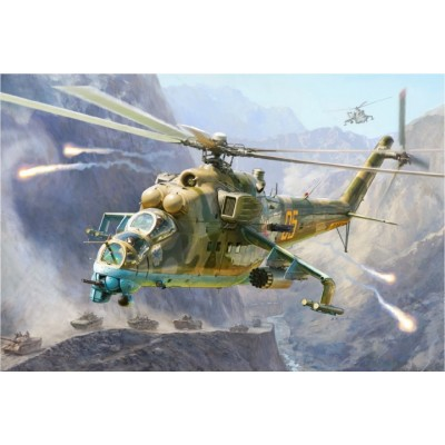 MIL MI-24 V/VP HIND -1/48- ZVEZDA 4823