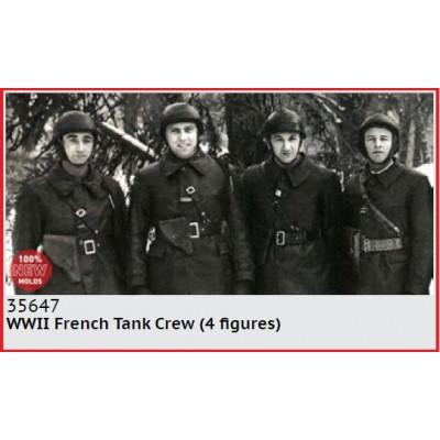 TRIPULANTES DE CARRO FRANCESES 1940 -1/35- ICM 35647