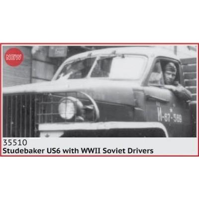 STUDEBAKER US6 & CONDUCTORES SOVIETICOS -1/35- ICM 35510