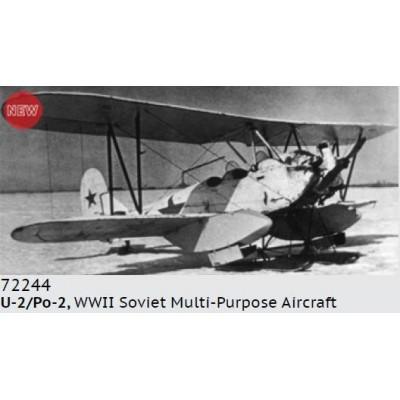 POLIKARPOV U-2 / Po-2 -1/72- ICM 72244
