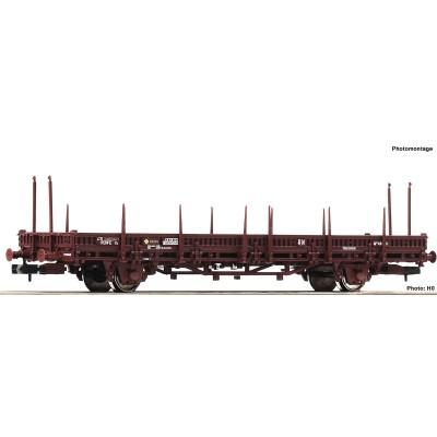 VAGON PLATAFORMA TELEROS RENFE -N - 1/160- Fleischmann 825737