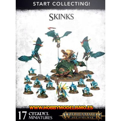 START COLLECTING SKINKS - GAMES WORKSHOP 70-72