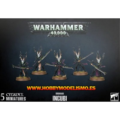 DRUKHARI INCUBI - GAMES WORKSHOP 45-40