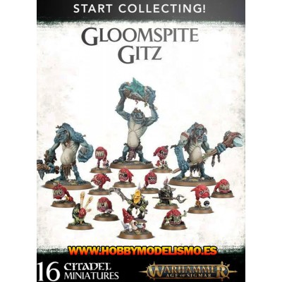 START COLLECTING GLOOMSPITE GITZ - GAMES WORKSHOP 70-57