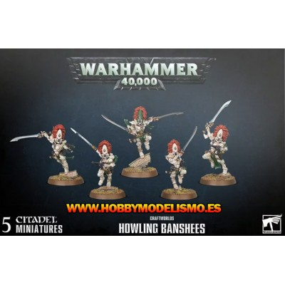 CRAFTWORLDS HOWLING BANSHEES - GAMES WORKSHOP 46-45