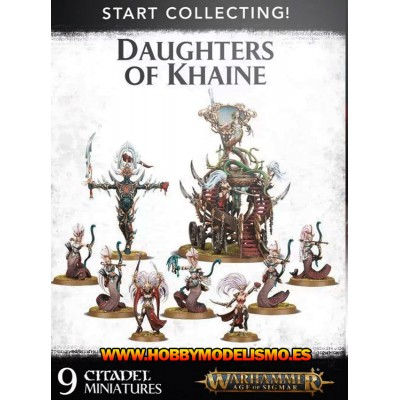 START COLLECTING DAUGHTHER OF KHAINE - GAMES WORKSHOP 70-61