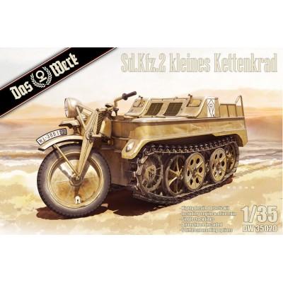 MOTOCICLETA ORUGA Sd.Kfz.2 KLEINES KETTENKRAD -Escala 1/35- DAS WERK 35020