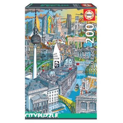 PUZZLE 200 PZS BERLIN CITY - EDUCA 18469