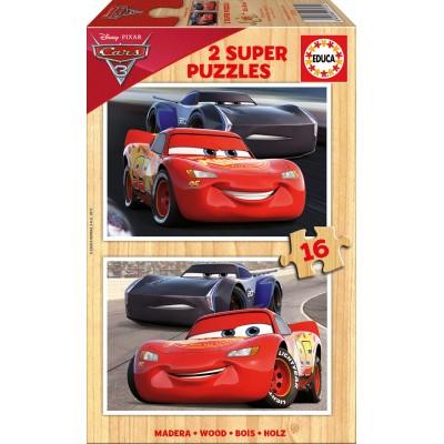 PUZZLE 2 X 16 CARS 3 - EDUCA 17172