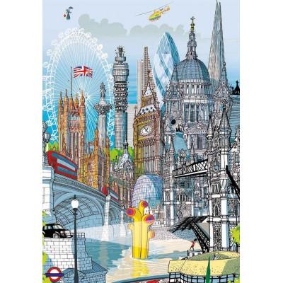 PUZZLE 200 PZS LONDRES CITY - EDUCA 18470