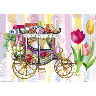 PUZZLE 1000 pzas CARRIAGE - Heye 29780