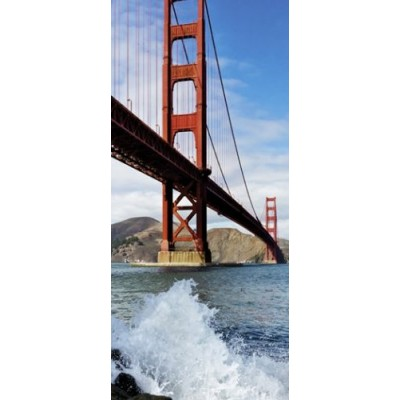 PUZZLE 1000 pzas VERTICAL GOLDEN GATE BRIDGE - Heye 29699