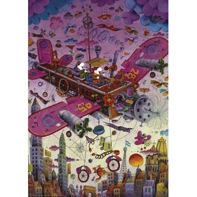 PUZZLE 1000 pzas MORDILLO , FLY WITH ME - Heye 29887