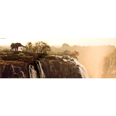 PUZZLE 1000 pzas ELEPHANT PANORAMA - Heye 29287