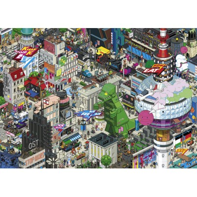 PUZZLE 1000 pzas EBOY BERLIN QUEST - Heye 29915