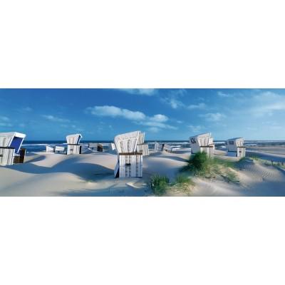 PUZZLE PANORAMA 1000 PIEZAS TUMBONAS EN LA ISLA DE SYLT (980 x 375 mm)