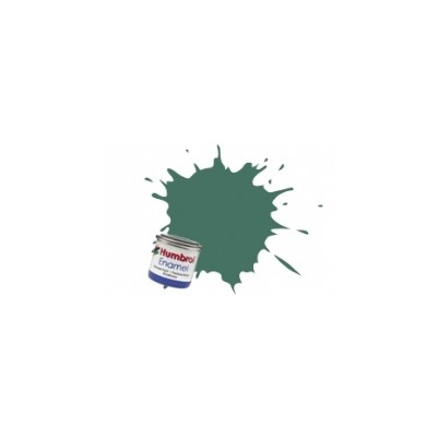 PINTURA ESMALTE VERDE UNIFORME MATE (14 ml)