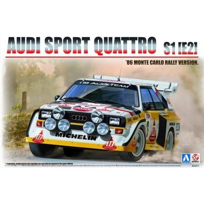 AUDI SPORT QUATTRO S1(E2) RALLY MONTE CARLO 1986 - ESCLA 1/24 BEEMAX B24017