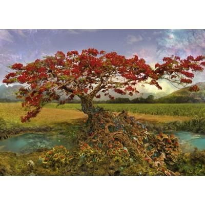 PUZZLE 1000 PZS ENIGMA TREES, STRONTIUM TREE - HEYE 29909
