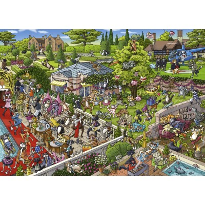 PUZZLE 1000 PZS PARTY CATS, TANCK - HEYE 29838