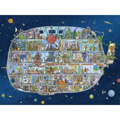 PUZZLE 1500 PZS SPACESHIP, ADOLFSSON - HEYE 29841