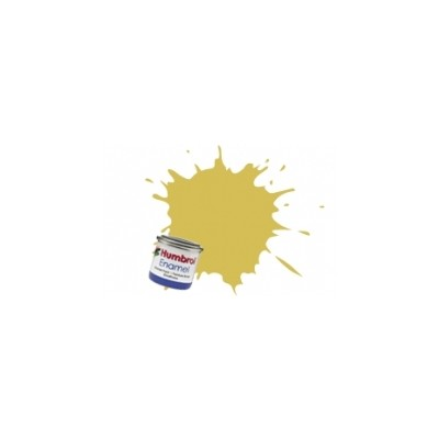 PINTURA ESMALTE AMARILLO PALIDO MATE (14 ml)