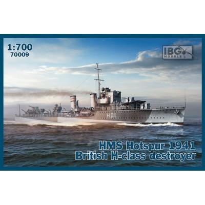 DESTRUCTOR HMS HOTSPUR 1941 CLASE H - ESCALA 1/700 - IBG 70009