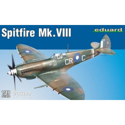 SUPERMARINE SPITFIRE MK.VIII - WEEKEND EDITION - ESCALA 1/48 - EDUARD 84159