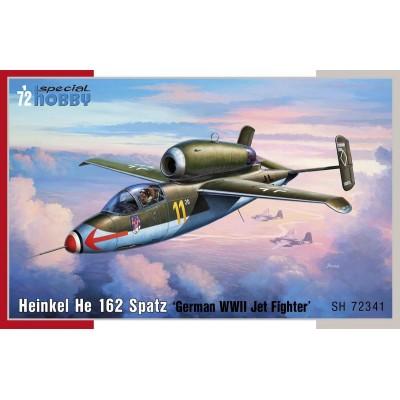 HEINKEL HE-162 SPATZ - ESCALA 1/72 - SPECIAL HOBBY 72341